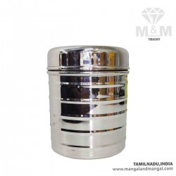 Stainless Steel Canister / Dabba / Container / Storage with Lid