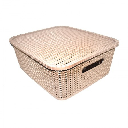 Polyset Marvel Basket with Lid - 50