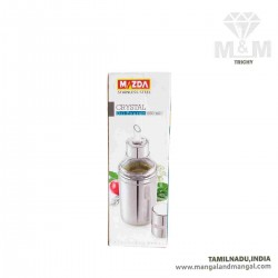 Mazda Stainless Steel Crystal Oil Pourer / Stainless Steel High Durable Oil Dispenser / Pourer