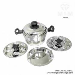 Chennai Mini Magic Idly Pot / Stainless Steel Idli Pot