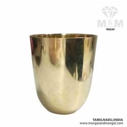 Traditional Brass Tumbler Glass / Peetal ka Glass Tumbler