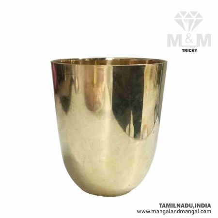 Brass Tumbler Glass / Peetal ka Glass Tumbler