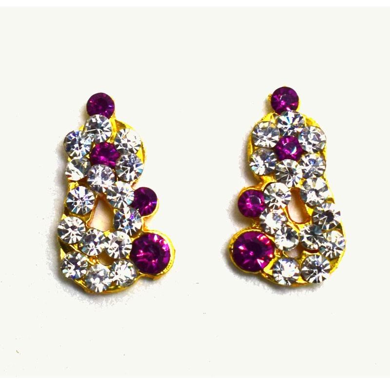 Stone Earrings Idols Ear Decoration Ornament
