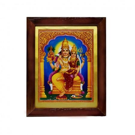Lord Swarna Akarshana Bhairava Goddess Ajamila Handicraft Photo
