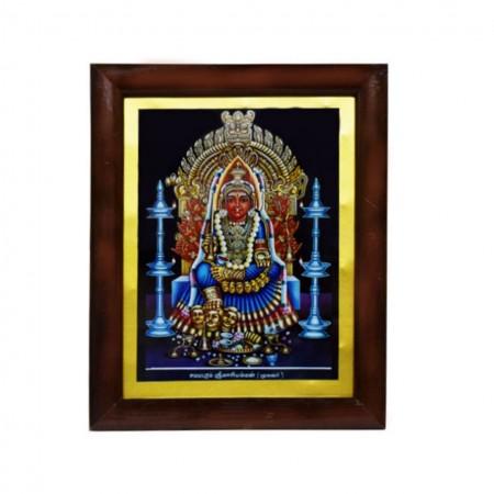 Handicraft Samayapuram Goddess Mariamman Photo for Pooja and Wall