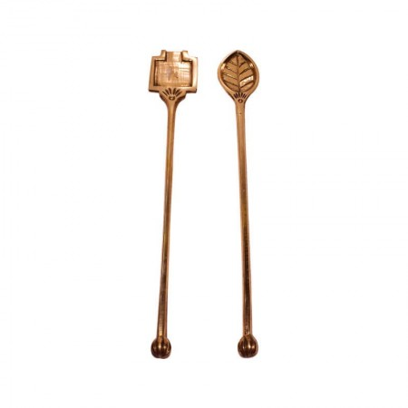 Brass Homa Karandi / Havan Spoon / Surukku Survam