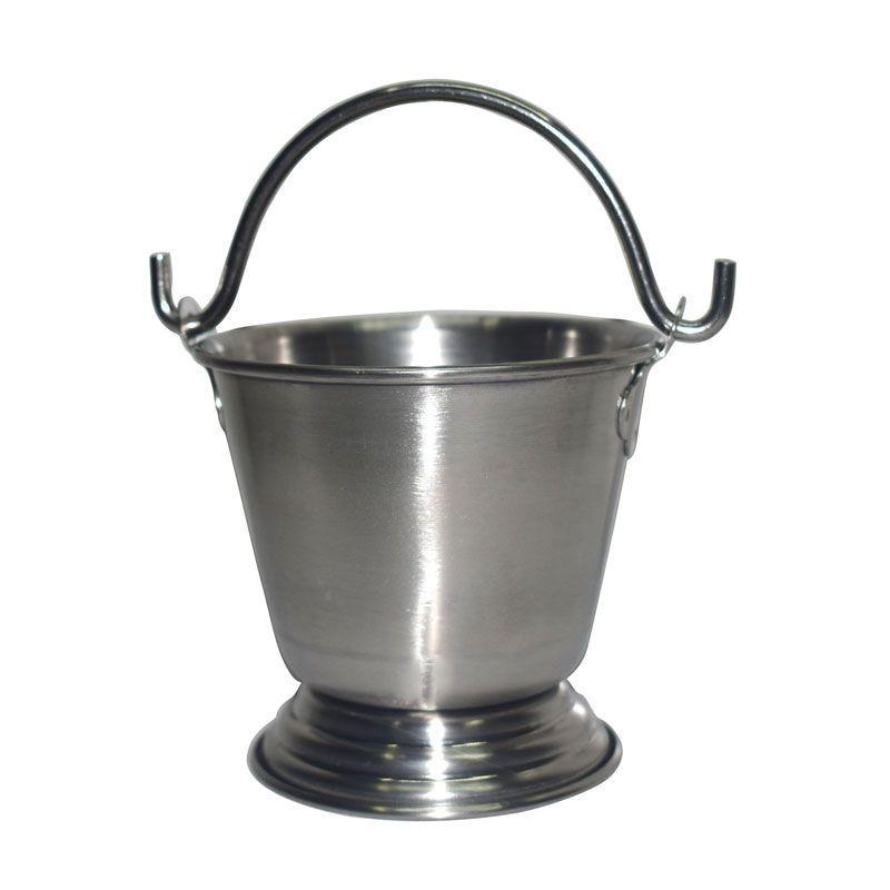 Stainless Steel Serving Bucket / Balti / Vaali