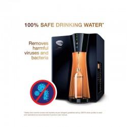 HUL Pureit Copper Mineral RO+UV+MF Water Purifier 8L Black & Brownish Orange