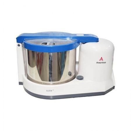 Amirthaa Sleek+ 2 Litre Multi Function Table Top Wet Grinder 150 Watts Blue,Red &Violet