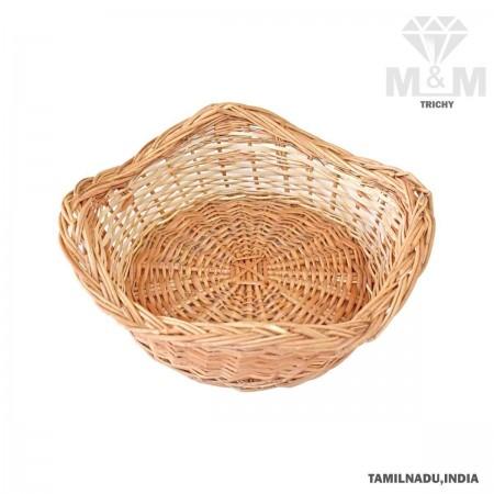 Handicrafts Eco Friendly Star Shape Woven Wicker Cane Bamboo Basket