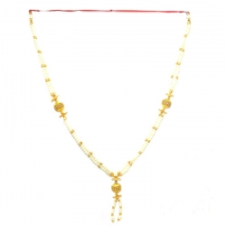 Decorative Handmade Artificial Pearls,Beads and Stones Garland (Maalai)