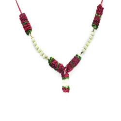 Decorative Handmade Artificial Pearl Garland (Maalai)