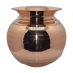 Traditional Design Copper Pot