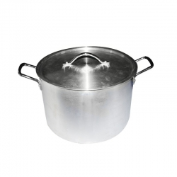 Aluminium Cooking Pot / Tope with Lid and Handle