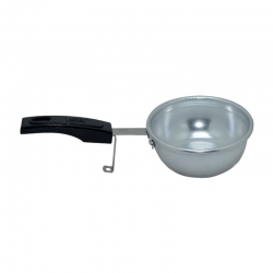 Anodized Aluminium (Tadka) Thalippu Pan with Heat Resistant Handle