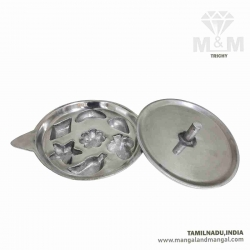 Aluminium Seven Different Shape Appam Maker / Paniyarakkal with Lid