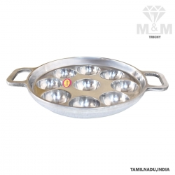 Aluminium Appam Maker / Paniyarakkal with Handle