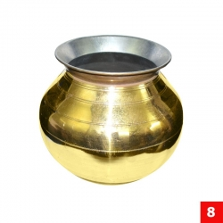 Brass Kumbakonam Traditional Handcrafted Pot
