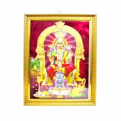 Handicraft Lord Mariamman Photo for Pooja and Wall
