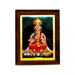 Handicraft Goddess Annapoorni Photo for Pooja and Wall