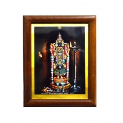 Handicraft Tiruvanaikka Goddess Akilandeswari Amman Photo for Pooja and Wall