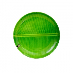 BNP Round Buffet Plate - Banana Leaf Familiar 12