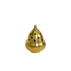Brass Decorative Anaya Vilakku / Oil Lamp