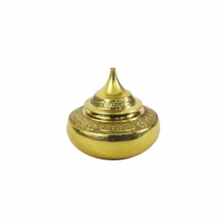 Brass Decorative Kunguma Chimizh / Kumkum Box