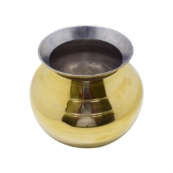 Kumbakonam Traditional Brass Pongal Pot / Paanai