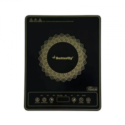 Butterfly Turbo Touch Power Hob 1800 Watt Induction Cooktop Black