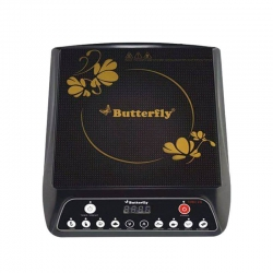 Butterfly Turbo Plus Power Hob 1800 Watt Induction Cooktop Black