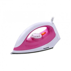 Panasonic NI-322C 1100 Watt Dry Iron Box Pink & White