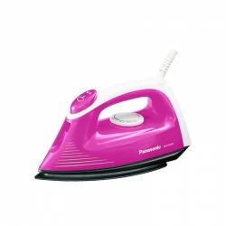 Panasonic NI-V100N 1000-1200 Watt Steam / Dry Iron Box Pink & White