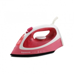 Panasonic NI-P300T 1550 Watt Steam / Dry Iron Box Pink & White