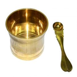Brass Traditional Pooja Panchapathiram Uthirani