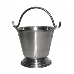 Stainless Steel Serving Bucket / Balti / Vaali