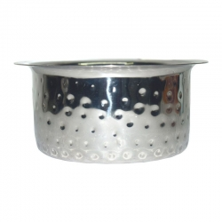 Handmade Stainless Steel Hammered Tope