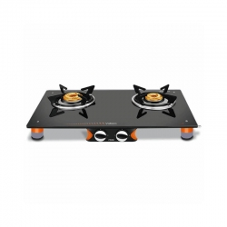 Vidiem Air Pride 2 Burner Glasstop Gas Stove