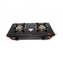 Vidiem Viva 2 Burner Glass Top Gas Stove