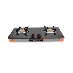Vidiem Air Plus 2 Burner Glass Top Gas Stove