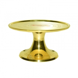 Brass Handcrafted Metal Plain Mukkali / Pooja Chowki Stool