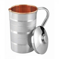 Steel Copper Water Jug / Pitcher Luxury Design