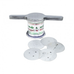 Alloy Aluminium Traditional Murukku Press Maker with 5 Plates