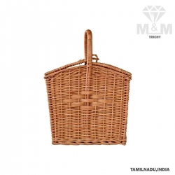 Handicrafts Eco Friendly Creative Bamboo Picnic Basket
