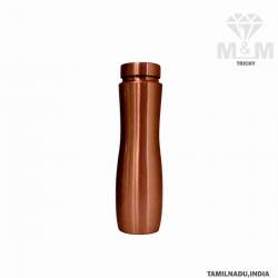 SAGA Dr Copper Curved Pure Copper Water Bottle 950ml