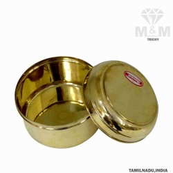 Brass Traditional Lunch Box