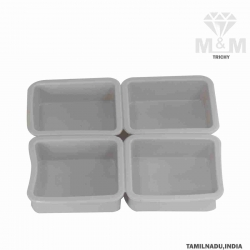 4 Groove Silicone Bakeware Rectangular Cake Mould