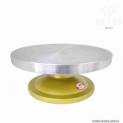 Cake Decorating Rotating Table / Decorating 360 Round Easy Rotate Metal Stand