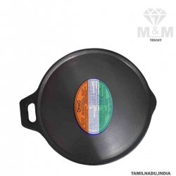 Cast Iron Dosa Tawa with Handle / Dosa Kallu