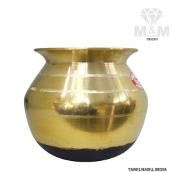 Kumbakonam Traditional Bronze Pongal Pot / Paanai